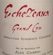 Alex Gambal Echezeaux Grand Cru  - label