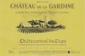 Château de la Gardine Châteauneuf-du-Pape Cuvée des Générations Marie-Léoncie - label