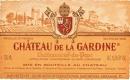 Château de la Gardine Châteauneuf-du-Pape  - label
