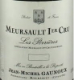 Jean-Michel Gaunoux Meursault Premier Cru Perrières - label