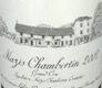 Domaine d'Auvenay (Lalou Bize-Leroy) Mazis-Chambertin Grand Cru  - label