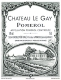 Château Le Gay  - label