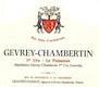 Domaine Geantet-Pansiot Gevrey-Chambertin Premier Cru Poissenot - label