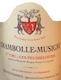 Domaine Geantet-Pansiot Chambolle-Musigny Premier Cru Les Feusselottes - label