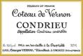 Domaine Georges Vernay Condrieu Coteau de Vernon - label