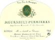 Henri Germain et Fils Meursault Premier Cru Perrières - label
