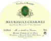 Henri Germain et Fils Meursault Premier Cru Charmes - label