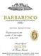 Azienda Agricola Falletto (Bruno Giacosa) Barbaresco Asili - label