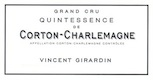 Domaine Vincent Girardin Corton-Charlemagne Grand Cru Quintessence - label