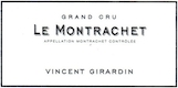 Domaine Vincent Girardin Montrachet Grand Cru  - label
