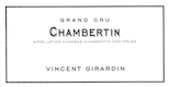 Domaine Vincent Girardin Chambertin Grand Cru  - label