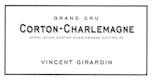 Domaine Vincent Girardin Corton-Charlemagne Grand Cru  - label