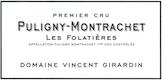 Domaine Vincent Girardin Puligny-Montrachet Premier Cru Les Folatières - label