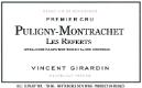Domaine Vincent Girardin Puligny-Montrachet Premier Cru Les Referts - label