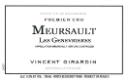 Domaine Vincent Girardin Meursault Premier Cru Genevrières - label