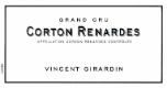 Domaine Vincent Girardin Corton Grand Cru Les Renardes - label