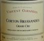 Domaine Vincent Girardin Corton Grand Cru Bressandes - label