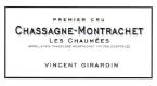 Domaine Vincent Girardin Chassagne-Montrachet Premier Cru Les Chaumées - label