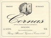 Domaine Thierry Allemand Cornas  - label