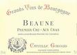 Camille Giroud Chambertin Grand Cru  - label