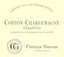 Camille Giroud Corton-Charlemagne Grand Cru  - label