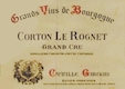 Camille Giroud Corton Grand Cru Le Rognet - label