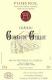 Château Gombaude-Guillot  - label