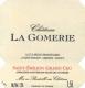 Château La Gomerie  Grand Cru - label