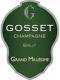 Gosset Grand Millésime Premier Cru - label