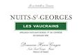 Domaine Henri Gouges Nuits-Saint-Georges Premier Cru Les Vaucrains - label