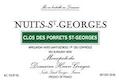 Domaine Henri Gouges Nuits-Saint-Georges Premier Cru Clos des Porrets-Saint-Georges - label