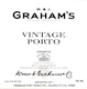 Graham's Porto  Vintage Port - label