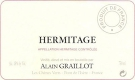 Domaine Alain Graillot Hermitage  - label