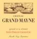 Château Grand-Mayne  Grand Cru Classé - label