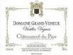 Domaine Grand Veneur Châteauneuf-du-Pape Vieilles Vignes - label