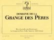 Domaine de la Grange des Pères  - label