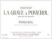 Château La Grave (ex Grave à Pomerol)  - label