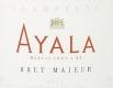 Ayala Brut Majeur - label