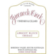 Greenock Creek Apricot Block Shiraz - label