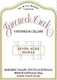 Greenock Creek Seven Acre Shiraz - label