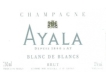 Ayala Blanc de Blancs Grand Cru - label