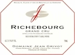 Domaine Jean Grivot Richebourg Grand Cru  - label