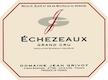 Domaine Jean Grivot Echezeaux Grand Cru  - label