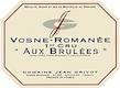 Domaine Jean Grivot Vosne-Romanée Premier Cru Aux Brûlées - label