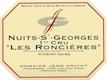 Domaine Jean Grivot Nuits-Saint-Georges Premier Cru Les Roncières - label