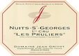 Domaine Jean Grivot Nuits-Saint-Georges Premier Cru Les Pruliers - label