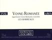 Domaine Anne Gros Vosne-Romanée Les Barreaux - label