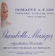 Domaine A.-F. Gros Chambolle-Musigny  - label