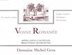 Domaine Michel Gros Vosne-Romanée  - label