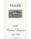 Groth Cabernet Sauvignon - label